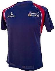 Ayuda para los Héroes T- Camisa (S-XXXXL) ejército/Azul Marino/RAF, azul, small