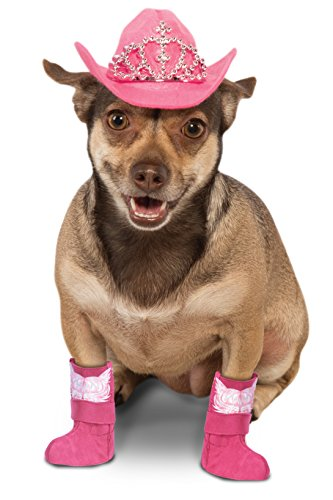 Rubie 's Hund Kostüm Cowboy Stiefel Cuff Set