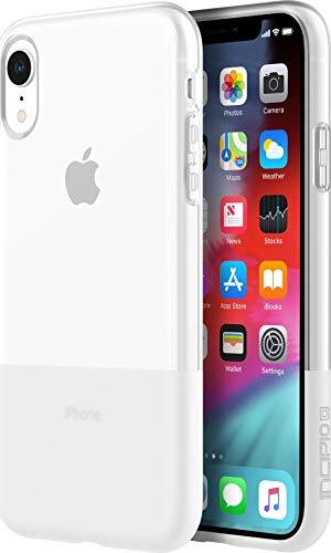 Incipio NGP Schutzhülle für Apple iPhone XR [Stoßfest I Reißfest I Flexibel I Transparent I Qi kompatibel] - IPH-1751-CLR