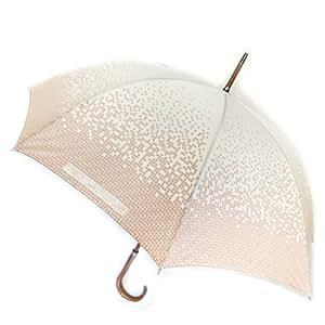 Ted Lapidus [M0283] - Parapluie canne 'Ted Lapidus' écru dégradé