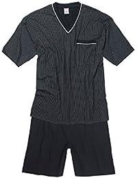 Adamo Fashion XXL Pijama corto en azul oscuro