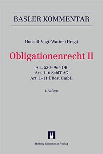 Basler Kommentar OR I + OR II + ZGB I + ZGB II + Aktualisierungsband Erwachsenenschutzrecht / Kombipaket: Basler Kommentar OR I + OR II + ZGB I + ZGB ... OR, Art. 1-6 SchlT AG, Art. 1-11 ÜBest GmbH
