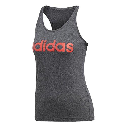 Adidas Ess Li SLI, Maglietta da Donna, Donna, CE4118, Grigio (brgros), XXL
