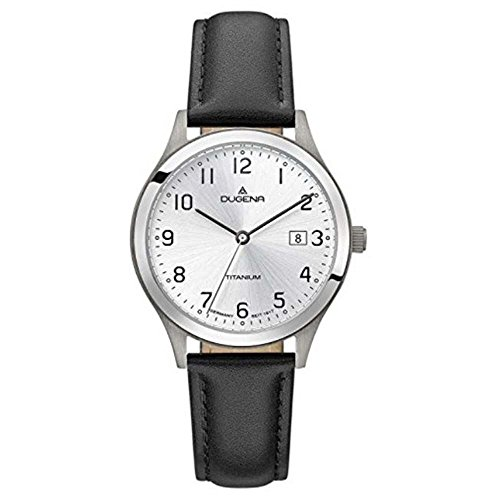 Dugena Men's Analogue Quartz Watch with Leather Strap 4460765