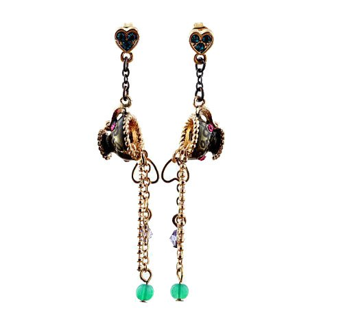 pouring-cup-design-drop-stud-earrings-in-gold-tone-with-crystals-and-enamel-gift-pouch-included