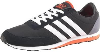 adidas Mens Neo Label V Racer Nylon Trainers Black/White ...