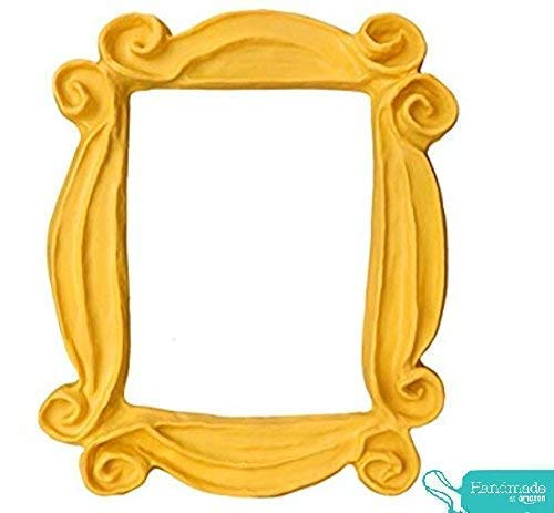 ♥ FRIENDS ♥ Rahmen bekannt von Monicas Apartment Handgearbeitete die beste Replik Tür der TV Serie FRIENDS Replik #1 - 5