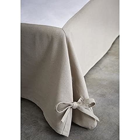Today 576338 Today Cache Sommier Coton/Tissus Intissé /Polypropylène Mastic 160 x 200 cm