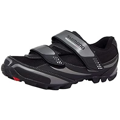 Shimano SPD M064 Shoes in Gray and Black Size 43, Black