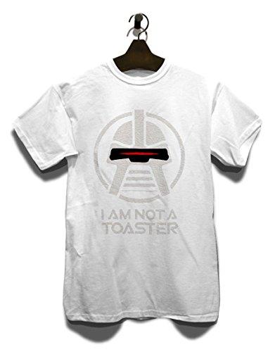 Cylon I Am Not A Toaster T-Shirt Weiß