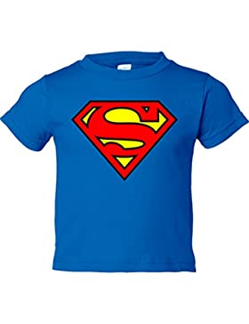Camiseta niño Superman logo