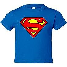Camiseta niño Superman logo