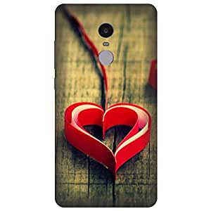 Saviyo Heart Hard Polycarbonate Designer Back Case Cover for Gionee A1
