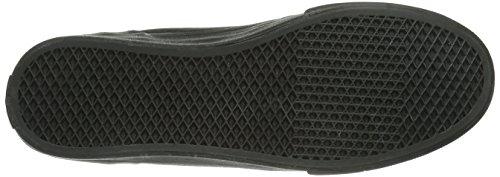 Vans W MILTON HI, Sneaker alta Donna Nero (Schwarz (MTE) black/grey / DZK)