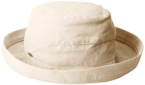 scala-womens-womens-medium-brim-cotton-hat-one-size-linen