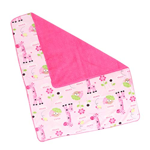Baoblaze Baby Jungen Mädchen Swaddle Decke Weiche Polyester Tücher für Babybett Kinderwagen -...