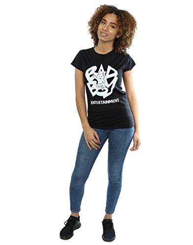 Bad Boy Records Femme Simple Logo T-Shirt Noir