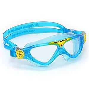 Aqua Sphere Vista Junior Schwimmbrille, Farbe:hellblau