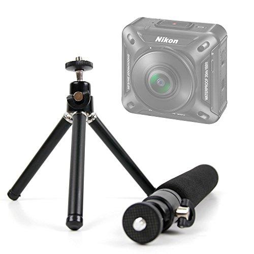 Stativ | Einbeinstativ klein für Nikon keymission 360| 170| 80–Ideal für tun Stab–DuraGadget