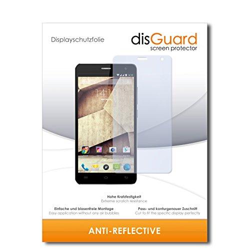 disGuard® Bildschirmschutzfolie [Anti-Reflex] kompatibel mit Allview P6 Qmax [4 Stück] Entspiegelnd, Matt, Antireflektierend, Extrem Kratzfest, Anti-Fingerabdruck - Panzerglas Folie, Schutzfolie