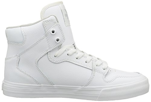 Supra Vaider - Sneakers Hautes - Homme Blanc (White/White)