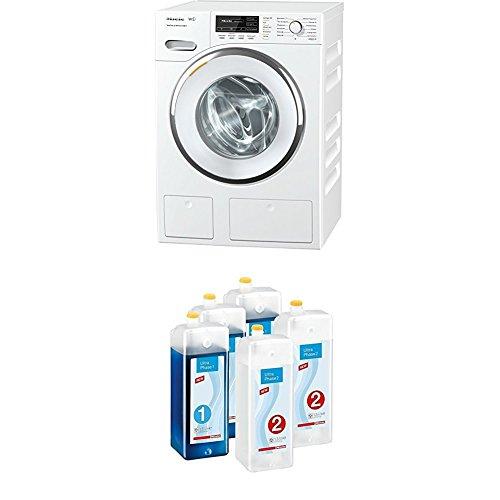 Miele WMG823WPS Waschvollautomat/1600 UpM/176 kWh/Jahr/8 kg/WiFiConnect/AllWater-Anschluss + Kartuschenset UltraPhase 1 und 2 Waschmaschinenzubehör
