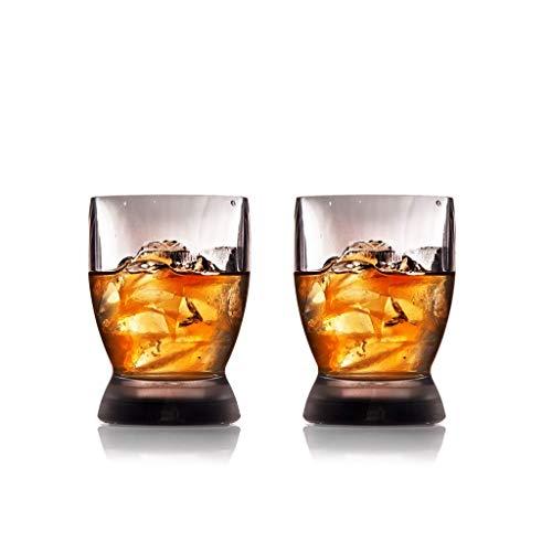 Mighty Mug Whisky Verre de tritán, 8 cm, Lot de 2