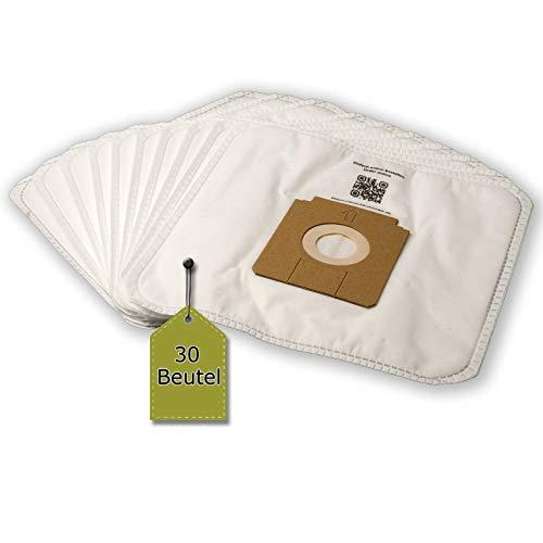 eVendix Staubsaugerbeutel passend für Bomann CB 962 | 30 Staubbeutel + 3 Mikro-Filter | kompatibel zu Original-Beutel: B 43
