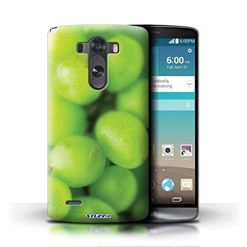 Kobalt® Imprimé Etui / Coque pour LG G3/D850/D855 / Melon d'eau conception / Série Fruits Raisin