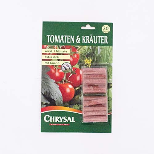 Chrysal Düngestäbchen Tomaten 20 Stück im Test