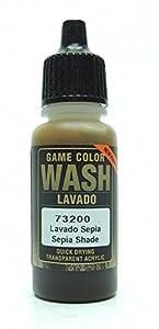Model Color Vallejo 73200 Sepia Shade Wash 17ml