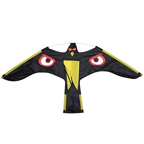 Carnote Vogel Scarer Flying Hawk Kite Kit für Garten Scarecrow Yard Haus Dekoration, 1