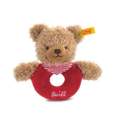Steiff 237263 - Osito de Peluche Color Rojo (12 cm)