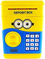 Varshine® Money Safe Treasury/Vault/ Money Bank/Coin Box for Kids with Electronic Lock & Secret Code to Unlock B-856