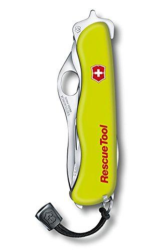 Zoom IMG-3 victorinox rescue tool coltellino giallo