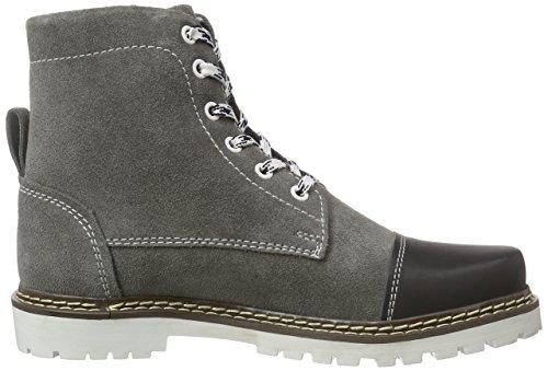 Bergheimer Trachtenschuhe Aflenz Damen Chukka Boots Grau (dk.grey/black)