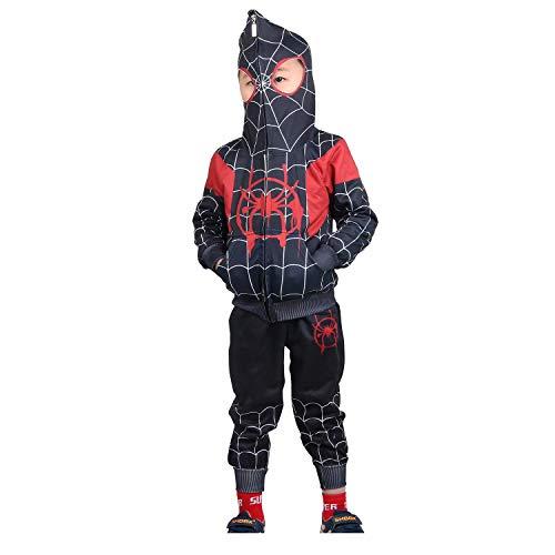Cosplay Kostüm Spiderman - Jungen Spiderman Hoodie Cosplay Kostüm Reißverschluss
