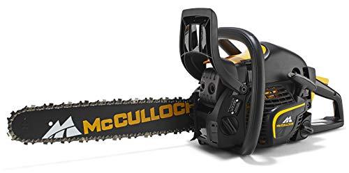 McCulloch 00096-66.316.15 CS410 Elite Motosierra de gasolina con motor de 1600W, longitud de espada...