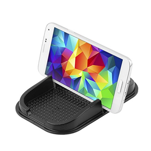 Maistore Car Mount Holder Nuevo tablero del tablero del coche del silicón No-Deslizamiento Tablero de la estera Teléfono celular Car Holder Cradle Dock para Samsung S8 / S7 / S6 iPhone 8 / 4s / 5 / 5s / 5Se / 6 / 6s plus / 7/7 y GPS titular