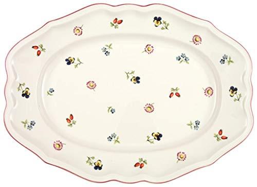 Villeroy & Boch Petite Fleur Platte oval, Premium Porzellan, 37cm