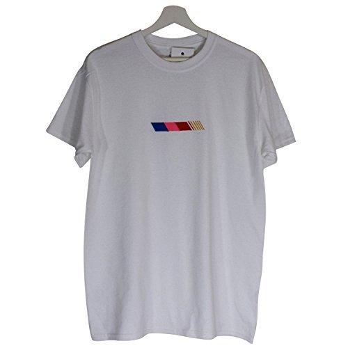 b148b8440326 Actual Fact Frank Ocean Stripe Hip Hop Odd Future Hip Hop Rap White T-Shirt
