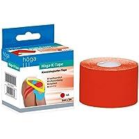 Preisvergleich für Höga Pharm kinesiologischer Tape, 5 cm x 5 m, rot, 1er Pack (1 x 91 g)