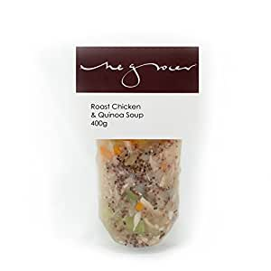 The Grocer on Elgin Roast Chicken and Quinoa Soup, 400 ml