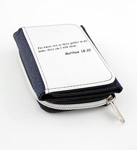 Wallet with 17 This is how love is made complete among us so that we will have confidence on the day of judgment In this world we are like Jesus.