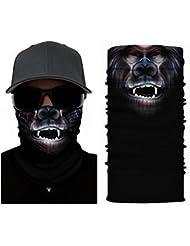 SIMIO Máscara Diseño - Máscara, Calentador de cuello, Pañuelo Para Cabeza - ruffnek Multifuncional Bufanda/Redecilla - talla única para hombre, mujer & Infantil