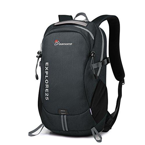 Mountaintop Unisex Casual Outdoor Rucksack Laptop Notebook-Taschen für Schule Reise Daypack Rucksack, 29x17x48cm (Nike-computer-rucksack)
