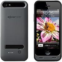 Boompods PCDGR PhoneCase für Apple iPhone 5, 2400mAh, dunkelgrau