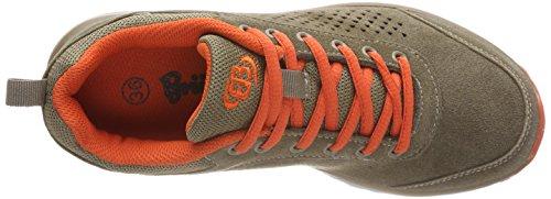 Bruetting Belton, Scarpe da Ginnastica Basse Unisex – Adulto Marrone (Braun/orange)