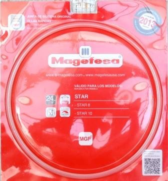 Magefesa 09 Gasket for Magefesa Pressure Cooker 8 Stars Design and 10 litre 2013