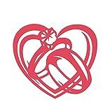 FNKDOR Fustelle per Fustellatrice Metallo Fustella Stencil per Carta DIY Scrapbooking Embossing Cutting Dies Album Foto, Accessori per Big Shot e Altre Macchina (I)